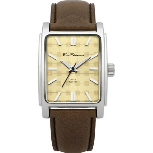 Ben Sherman Mens Brown Watch With Cream Face