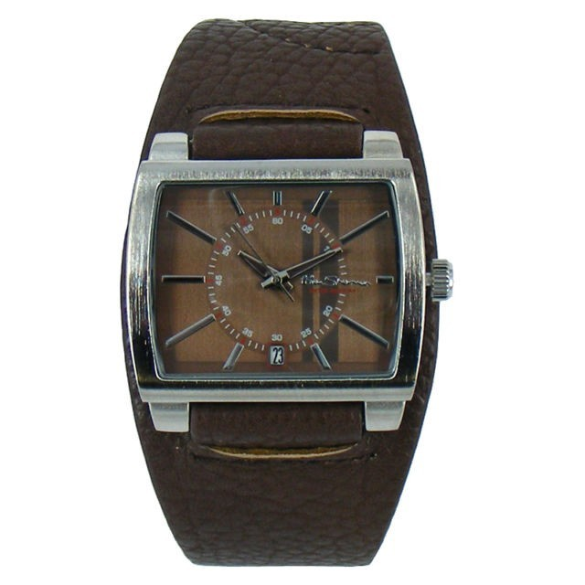Ben Sherman Mens Brown Watch With Brown Face