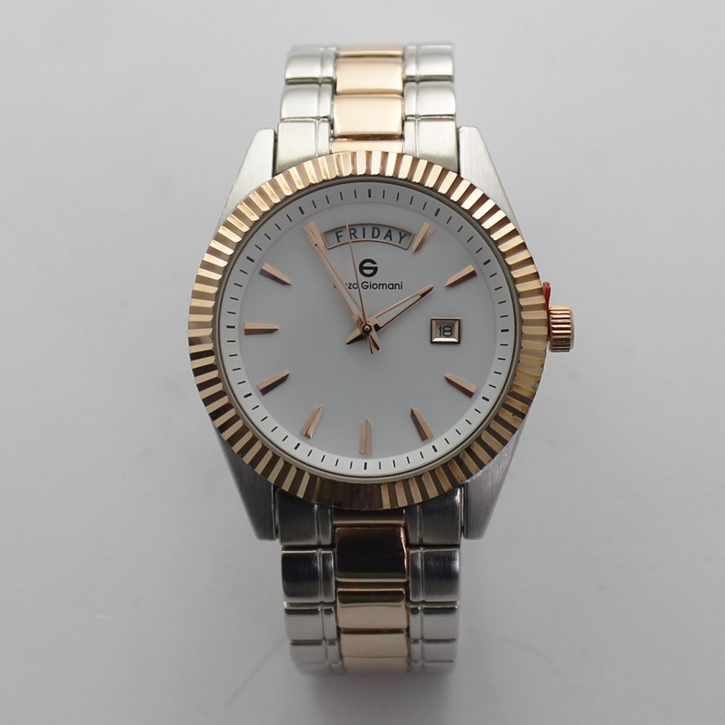 Enzo Giomani Mens Classic Style Watch - Rose Gold
