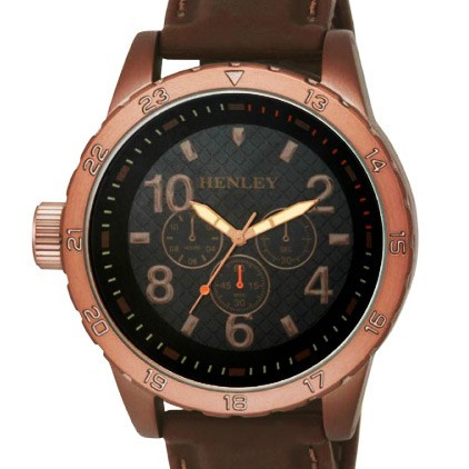 Henley Gents Watch - Antique Brown
