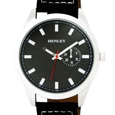 Henley Gents Watch - Silver / Black