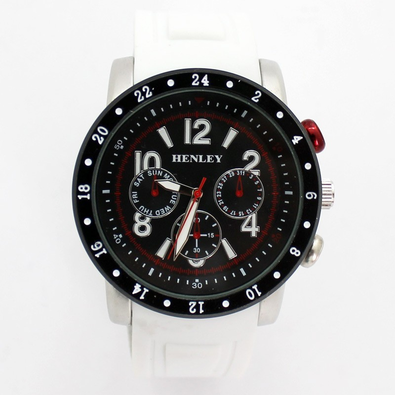 Henley Mens Large Watch - White