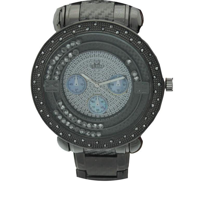 Ice Star Mens Watch - Black