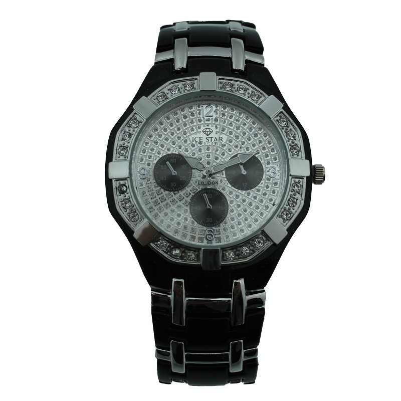 Ice Star Mens Watch - Silver Face