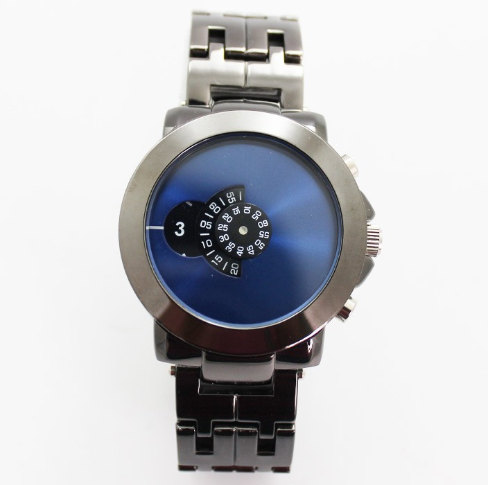 Softech Mens Watch with Individual Display - Blue