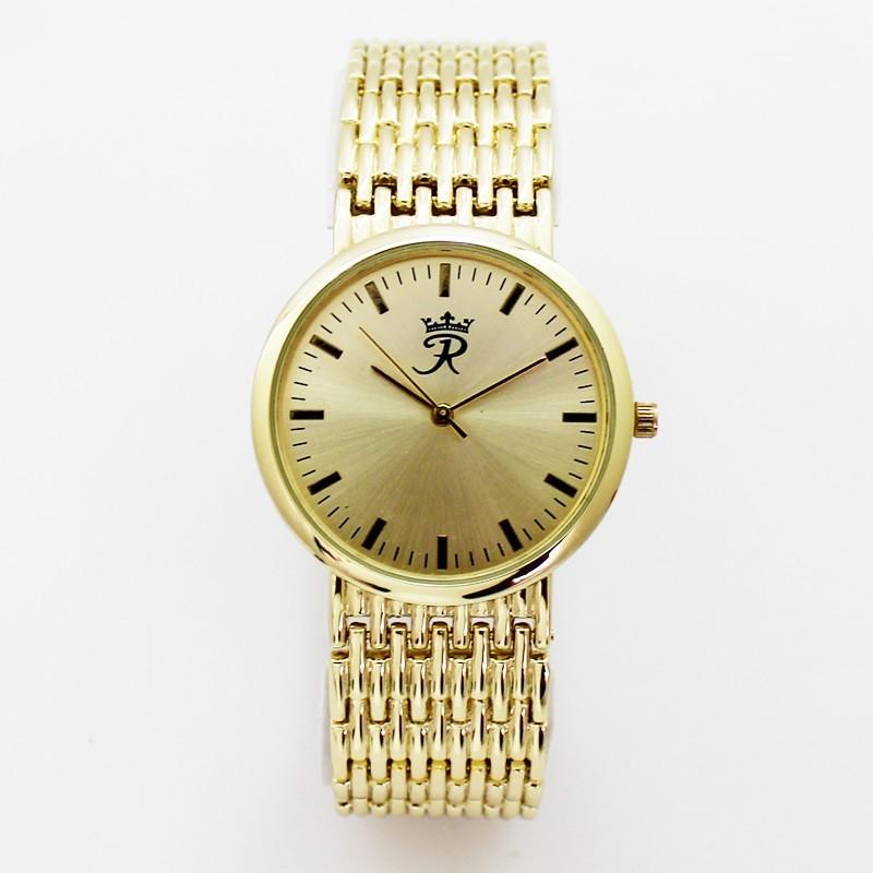 Gents Reflex Bracelet Watch - Gold