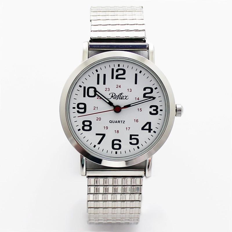 Reflex Gents Expander Watch - Silver