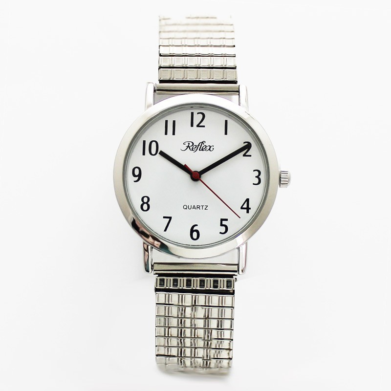 Reflex Gents Expander Watch - Silver