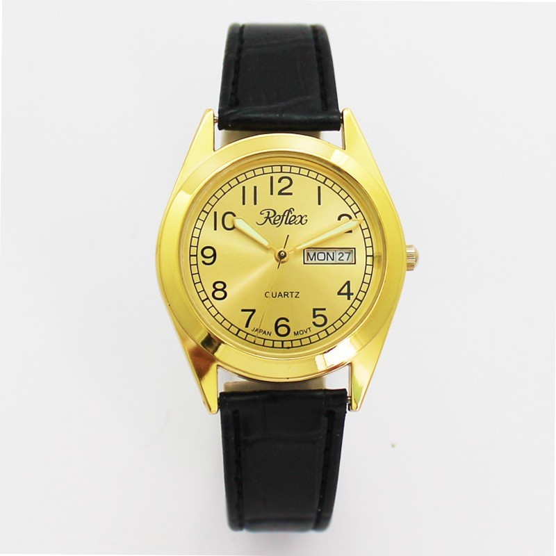 Reflex Gents Day Date Watch - Gold