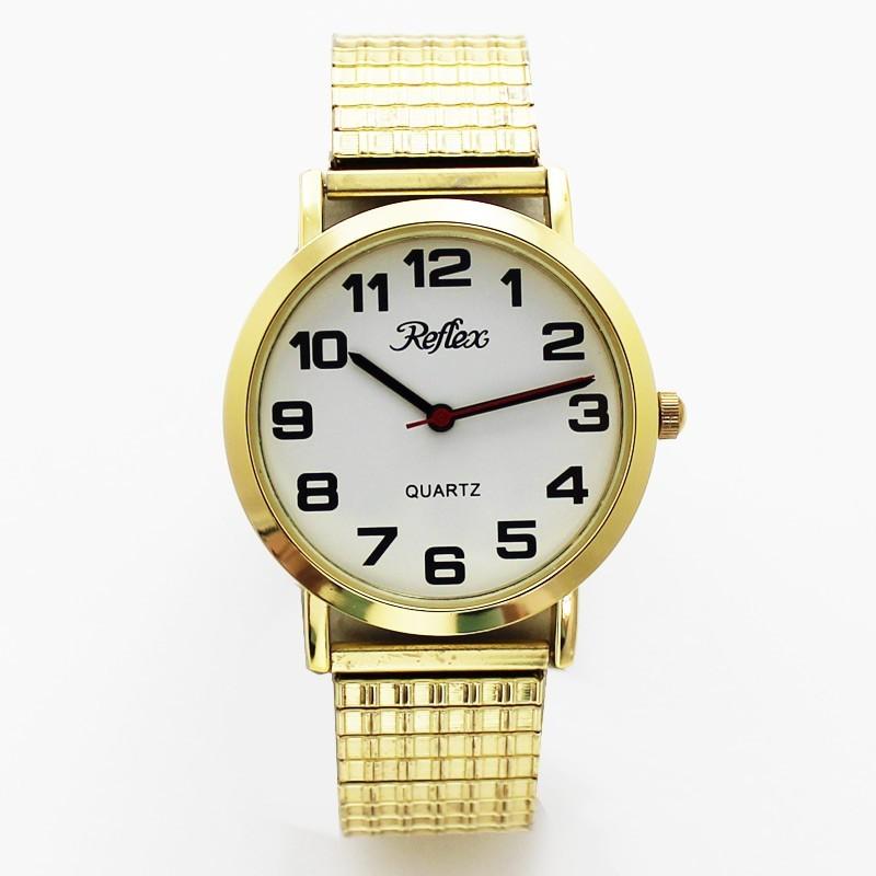 Reflex Gents Expander Watch - Gold