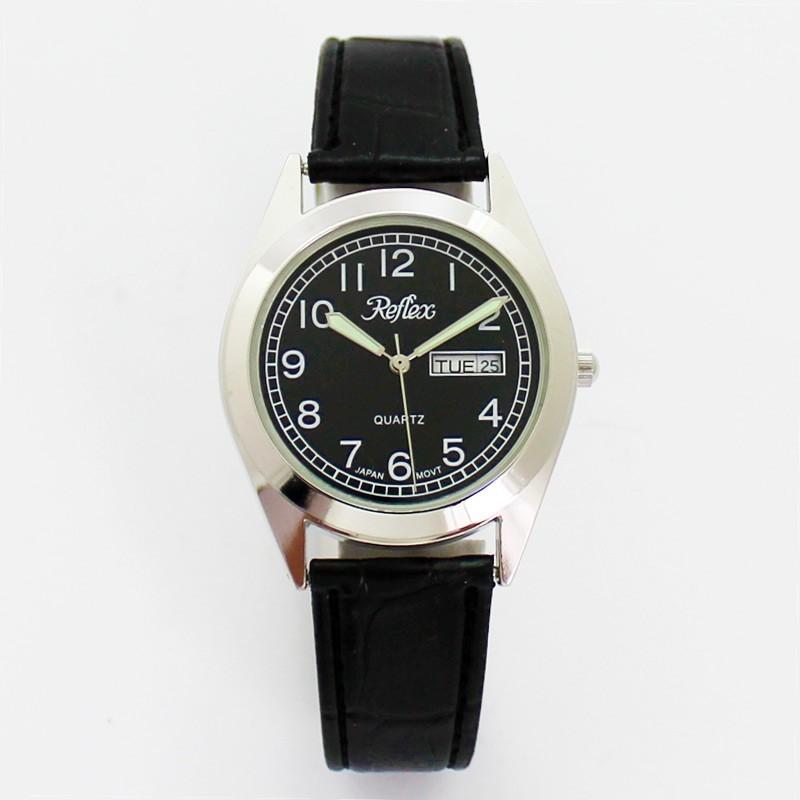 Reflex Gents Day Date Watch - Silver
