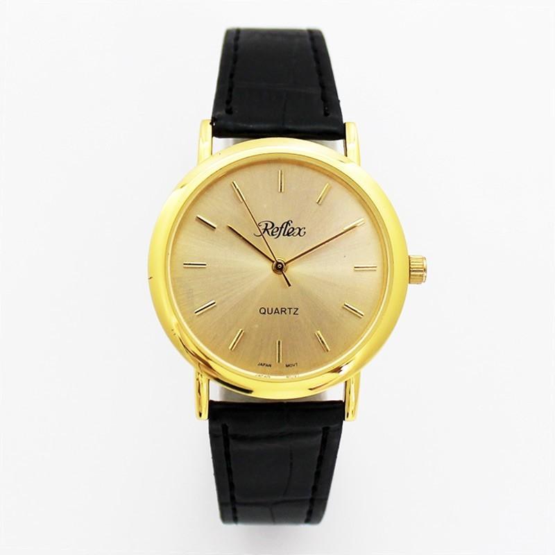 Reflex Mens Classic Style Watch - Gold