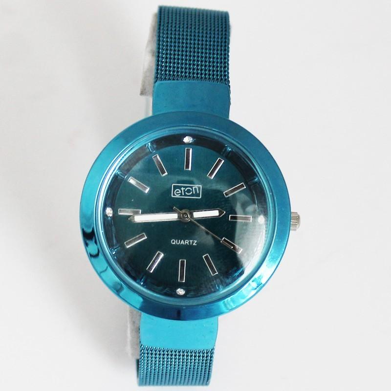 Eton Ladies Round Bracelet Watch - Blue