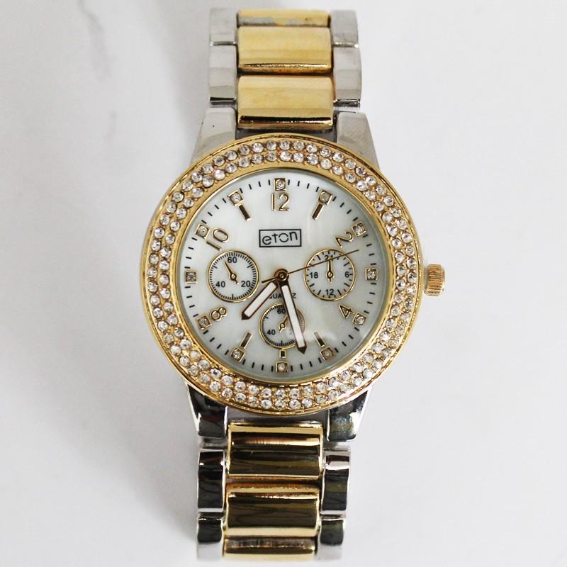 Eton Ladies Gold Metal Watch