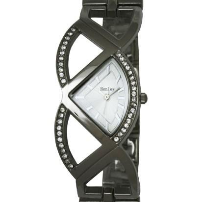 Henley Ladies' Watch with Diamante Crystals - Silver