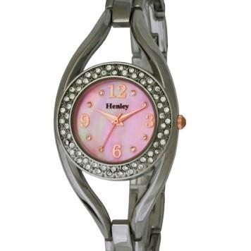 Henley Ladies Fashion Bracelet Watch - Silver