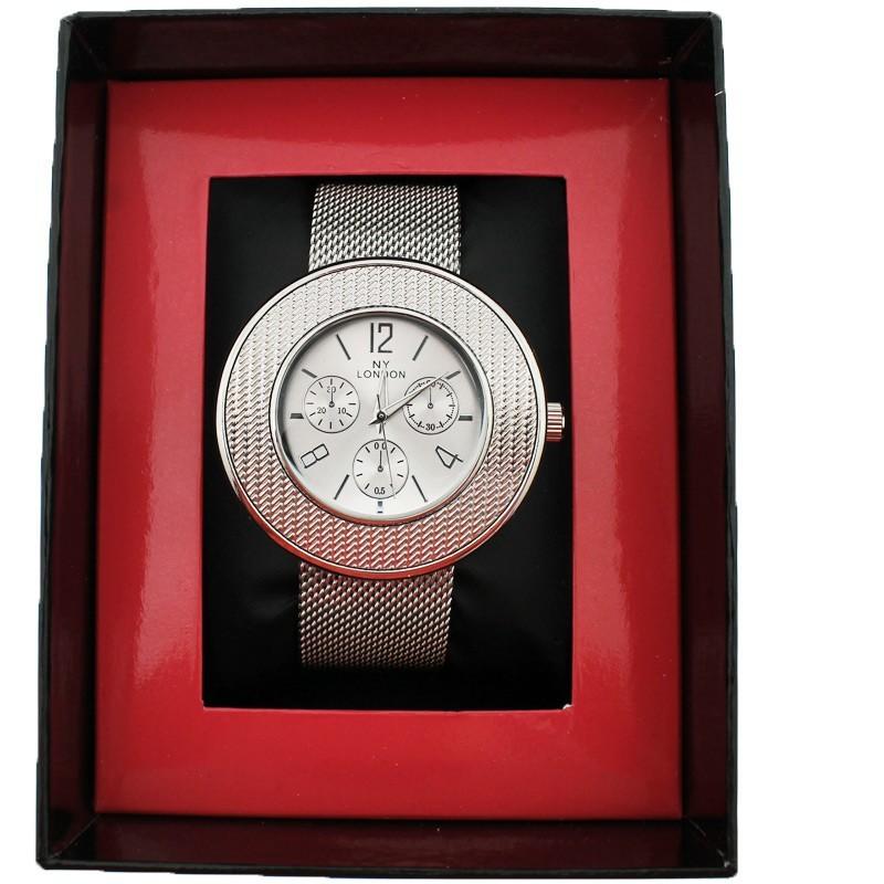 NY London Ladies Wrist Watch Silver