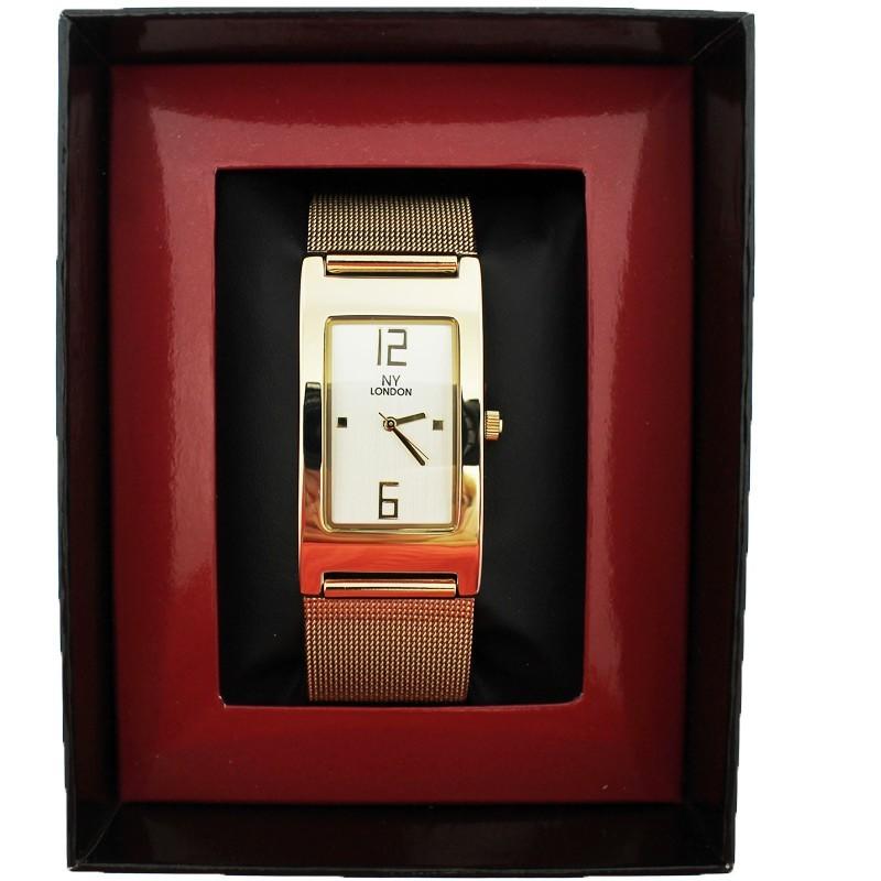 NY London Ladies Wrist Watch (Gold)