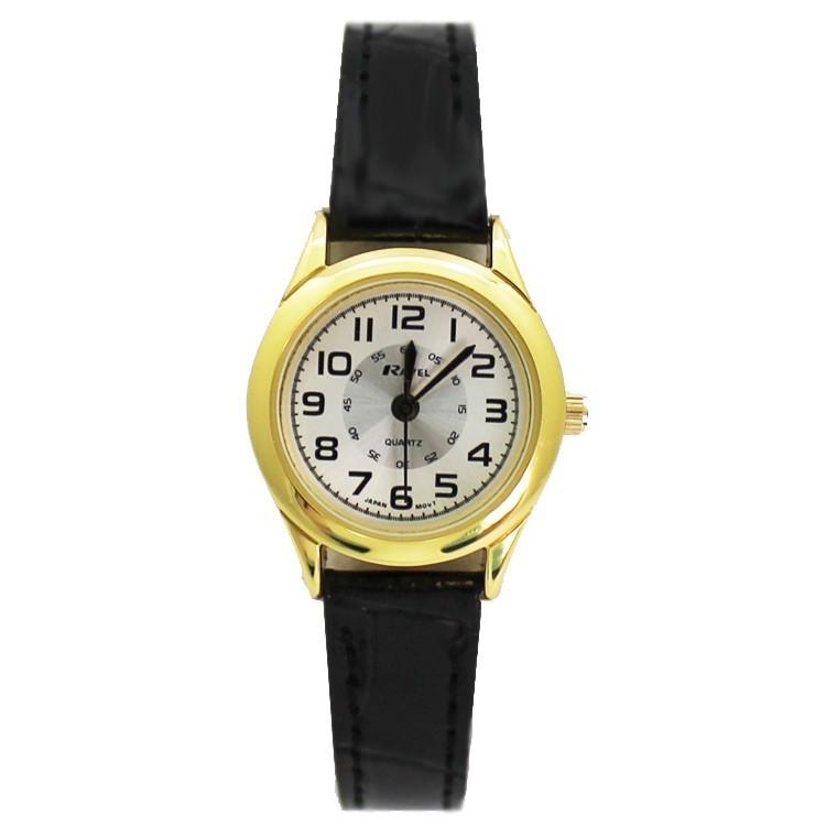 Ravel Ladies Classic Style Watch - Gold