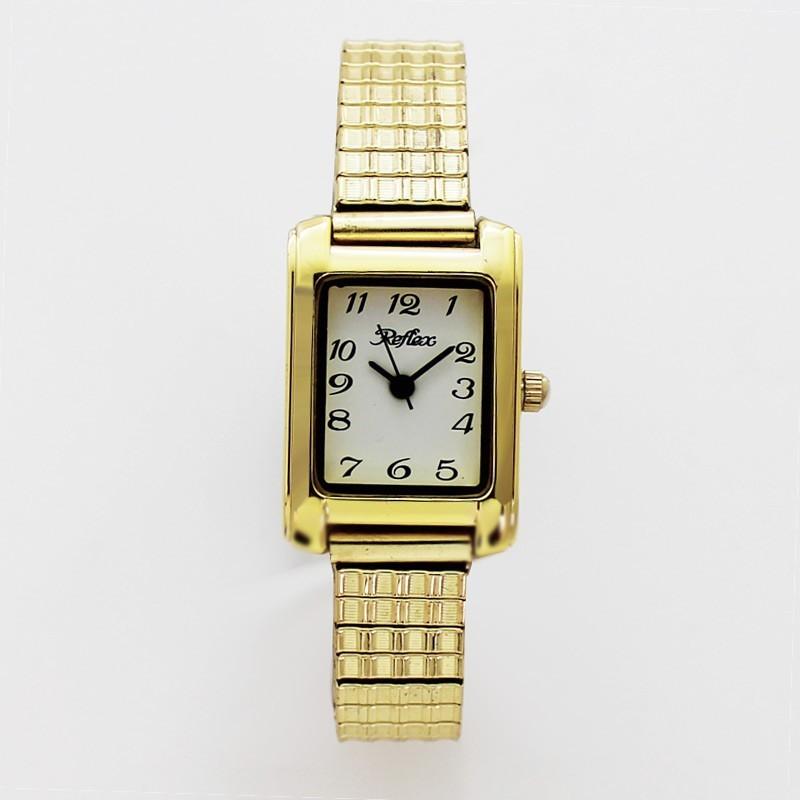 Reflex Ladies Expander Watch Gold
