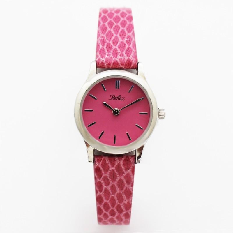 Reflex Ladies Honeycomb Design Watch - Pink