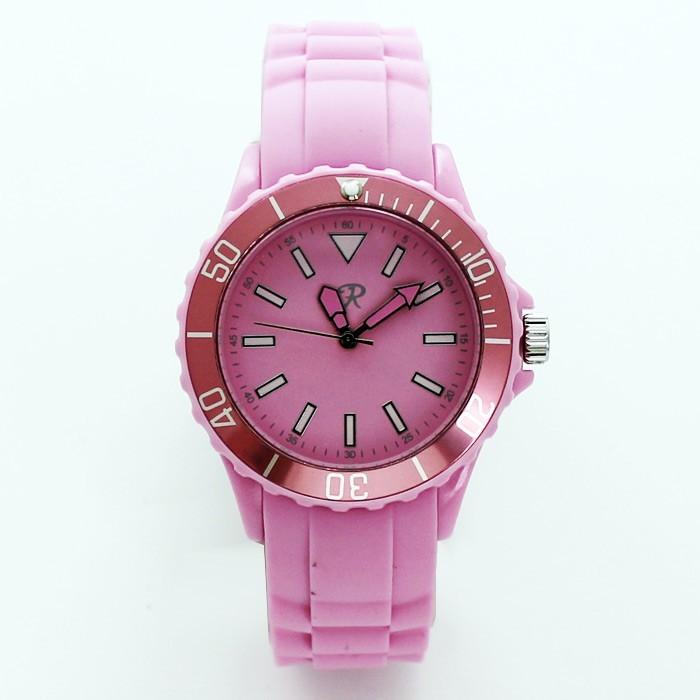 Reflex Silicone Strap Sports Watch Pastel Pink