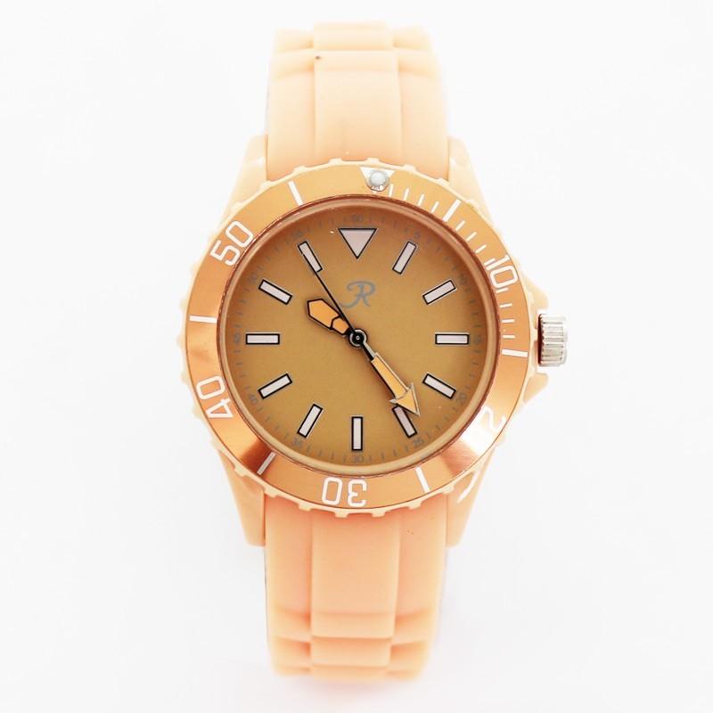 Reflex Silicone Strap Sports Watch Peach