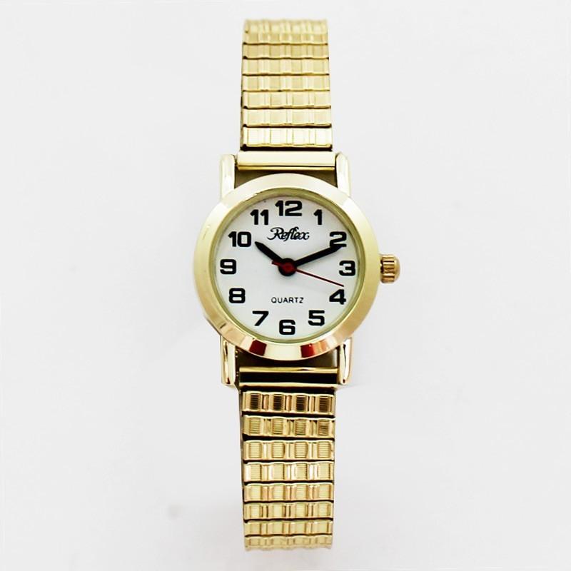 Reflex Ladies Expander Watch - Gold