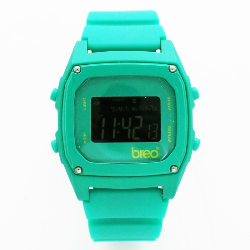 BreoTime Unisex Sports Watch - Green