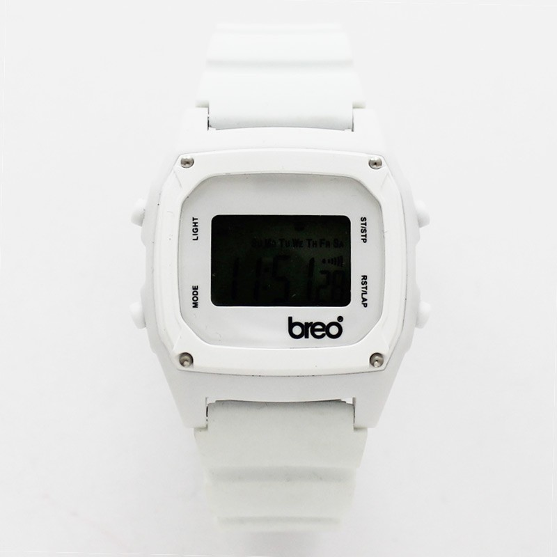 BreoTime Unisex Sports Watch - White