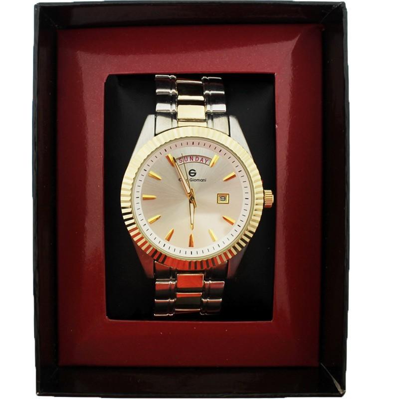 Enzo Giomani Unisex Wrist Watch Silver & Gold
