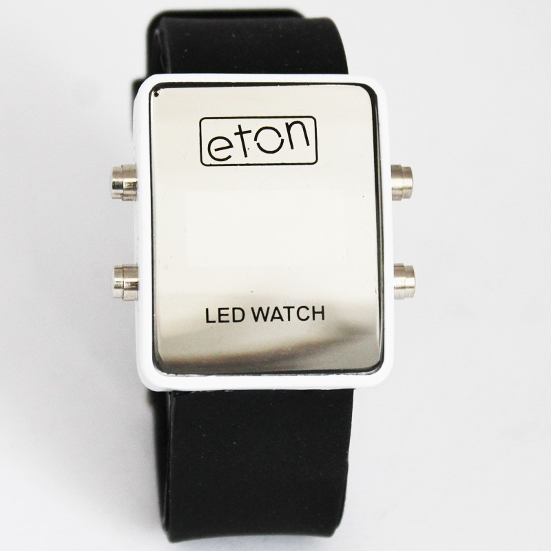 Eton Unisex LED Watch - Black