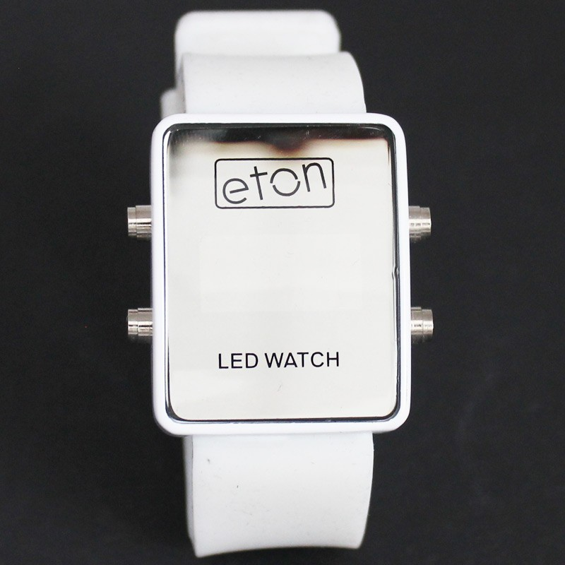 Eton Unisex LED Watch - White