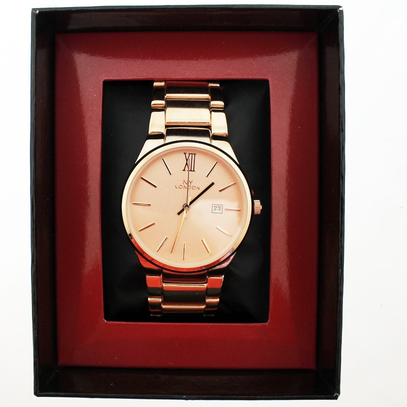 NY London Unisex Wrist Watch Rose
