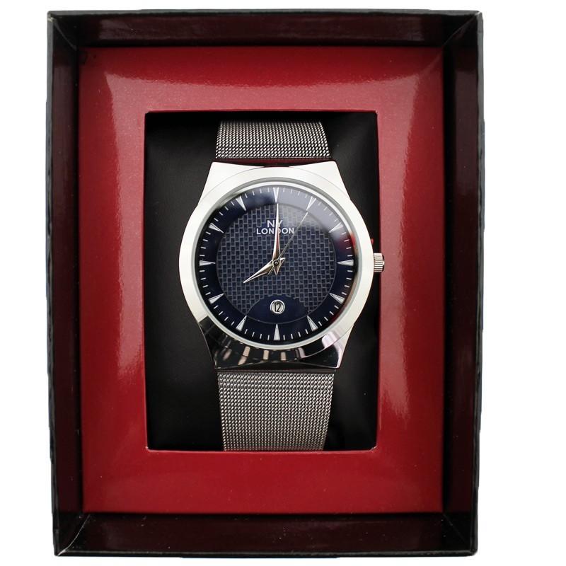 NY London Unisex Wrist Watch Silver