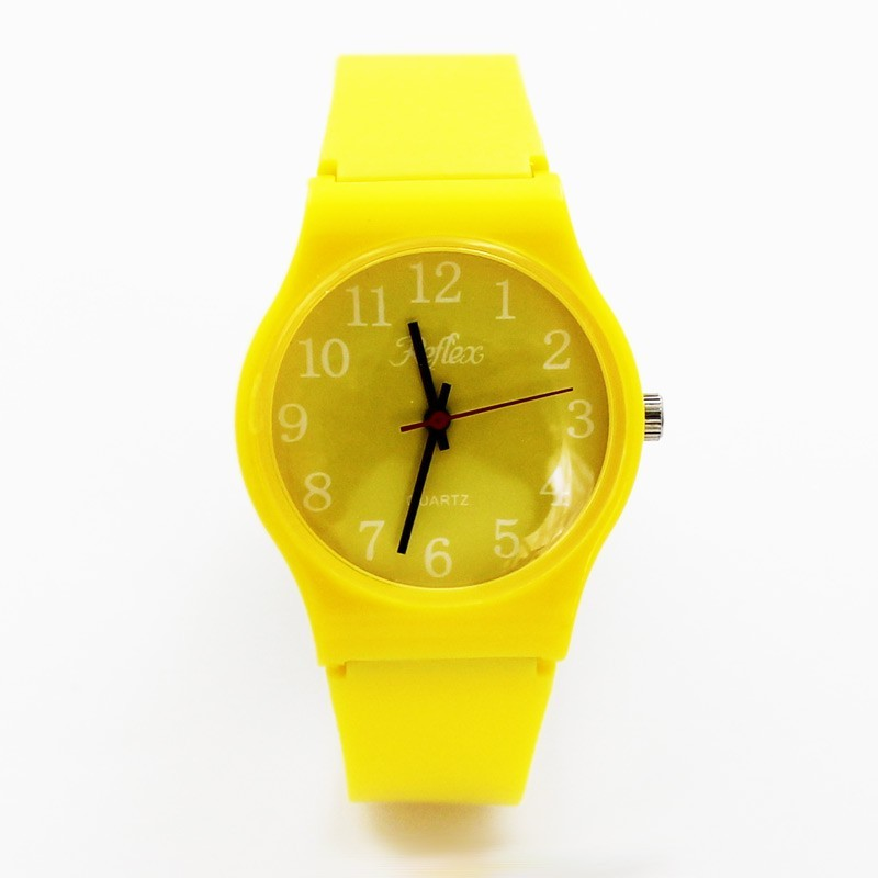 Reflex Classic Unisex Anti Allergy Watch Yellow