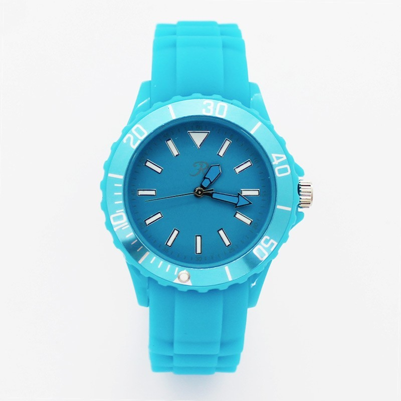 Reflex Unisex Silicone Strap Sports Watch Turquoise