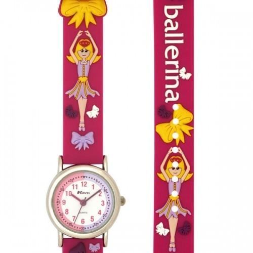 Ravel Childrens Ballerina Watch - Pink