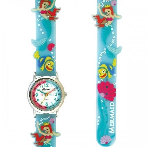 Ravel Childrens Fish Design Watch - Turquoise