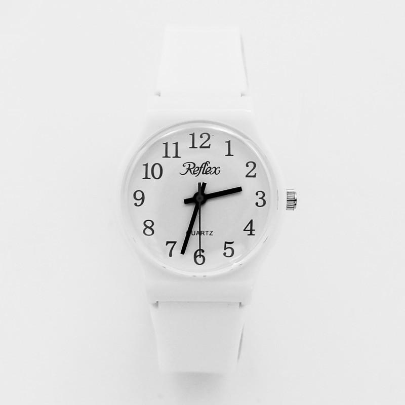 Reflex Classic Unisex Anti Allergy Watch - White