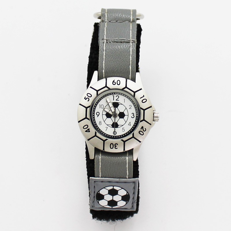Reflex Kids Football Design Watch - Silver