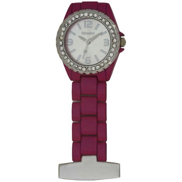 Henley Fashion Fob Watch - Pink