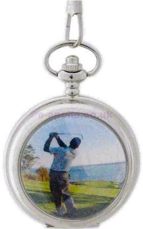 Reflex Pocket Watch Golf