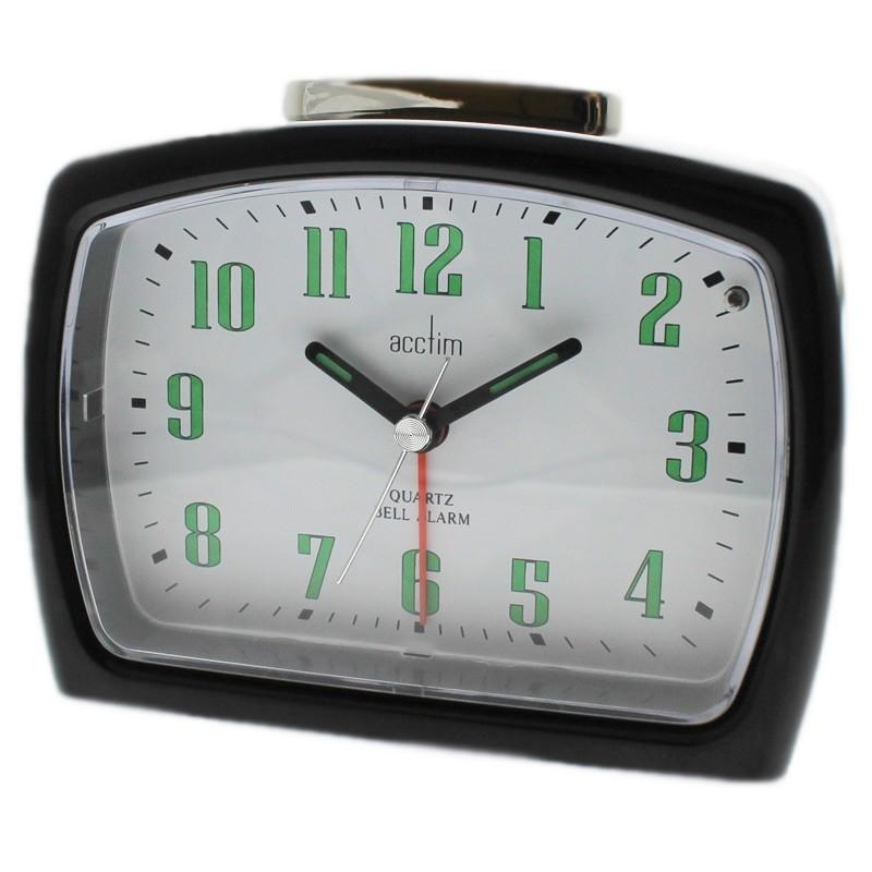 Acctim ISLA Alarm Clock - Black