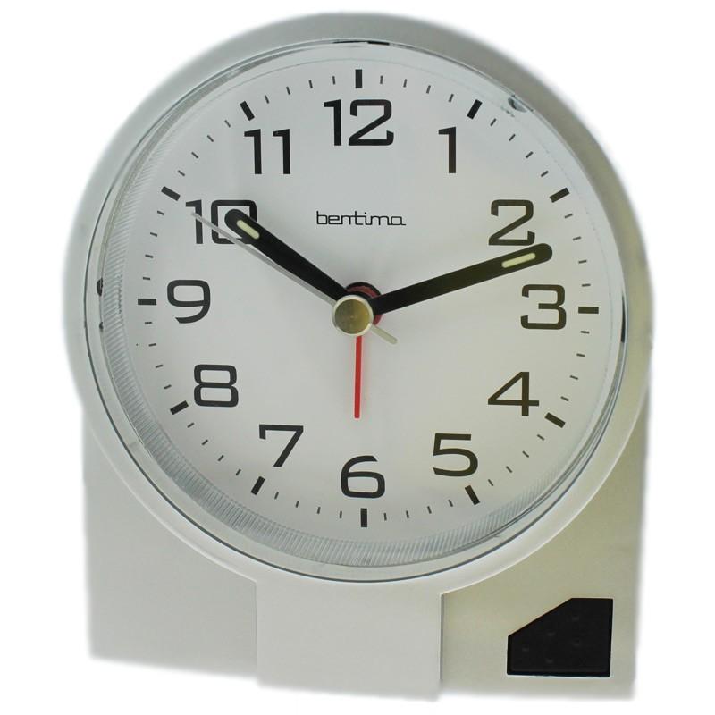 Acctim Leon Alarm Clock - Silver