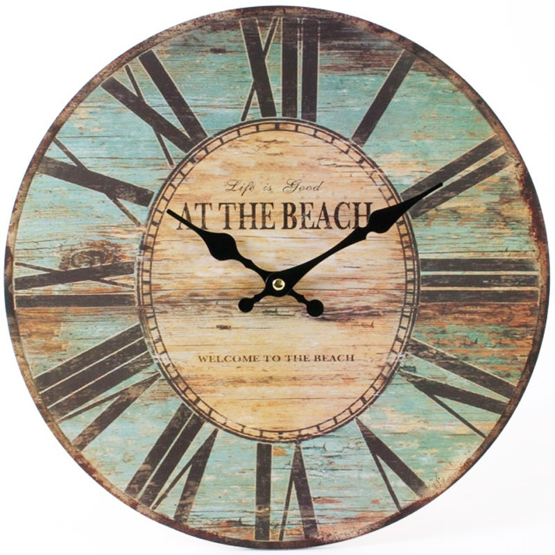 """Life Is Good At The Beach"" Wall Clock"