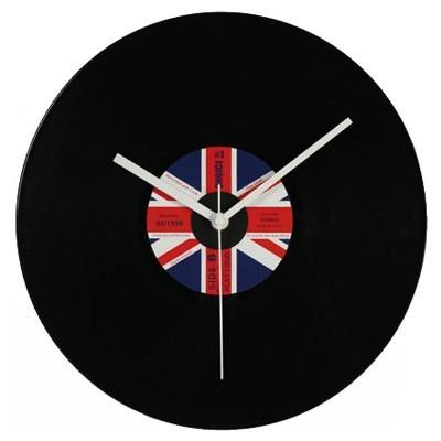 Plastic Wall Clocks Vinyl Records Design - Assorted Designs