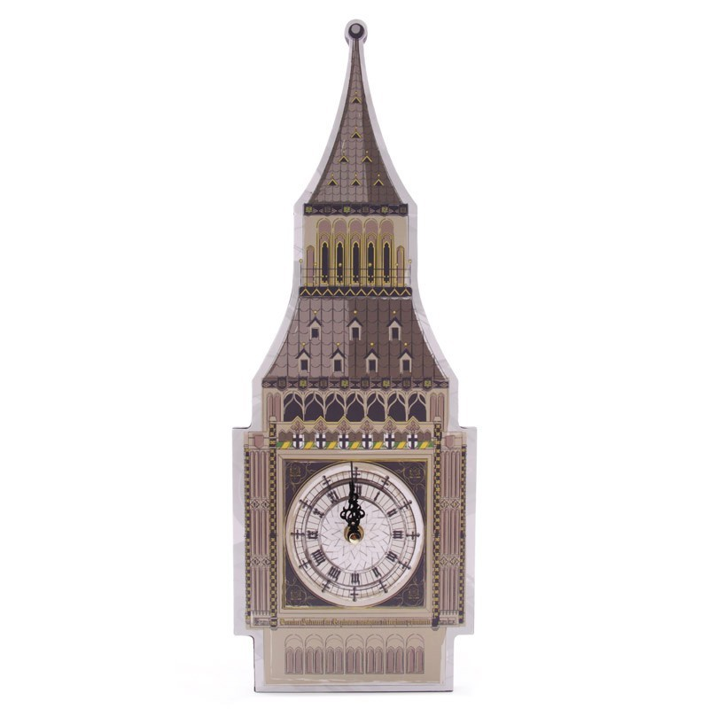 Ted Smith Big Ben Shaped Picture Clock