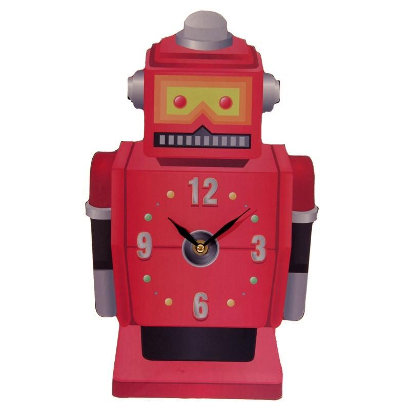Ted Smith Retro Wall Clock - Robot