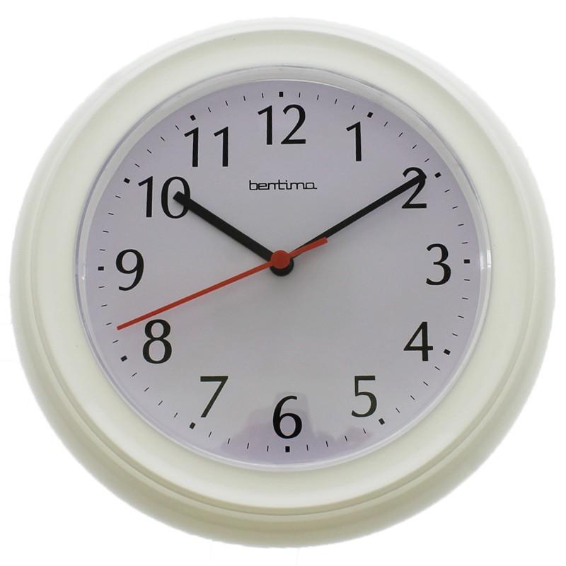 Bentima Wycombe Wall Clock - White